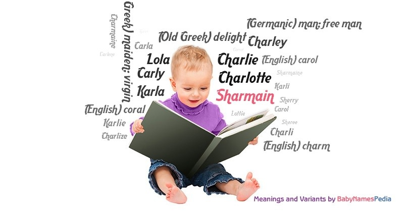 Meaning of the name Sharmain