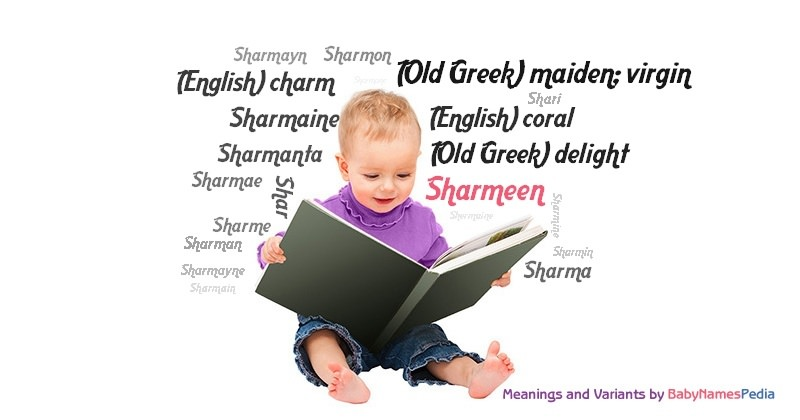 Meaning of the name Sharmeen