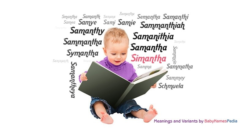 Meaning of the name Simantha