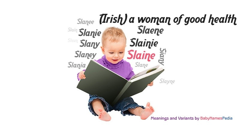 Meaning of the name Slaine