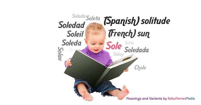 Meaning of the name Sole