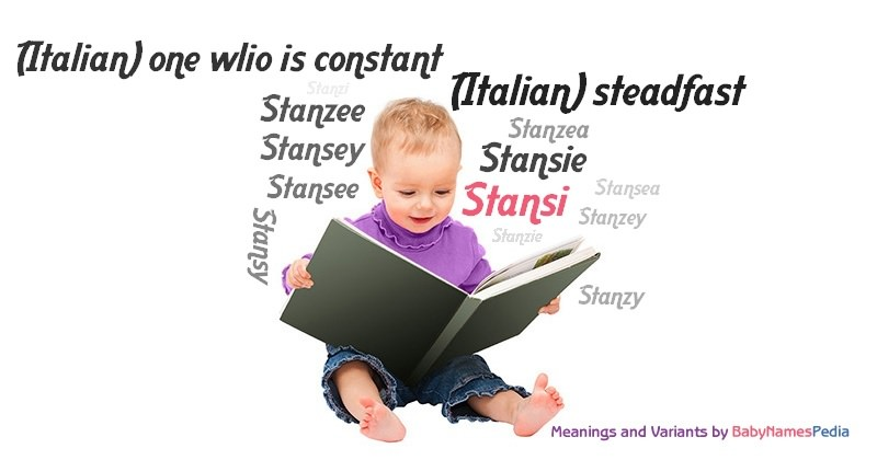 Meaning of the name Stansi