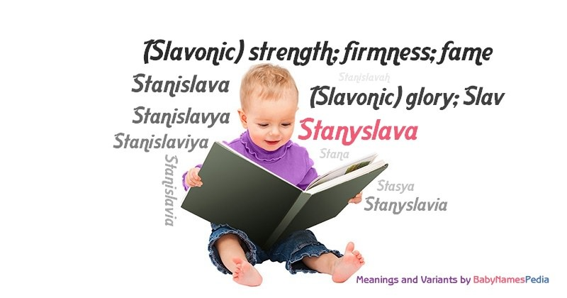Meaning of the name Stanyslava