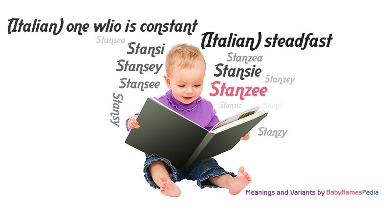 Meaning of the name Stanzee