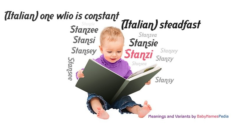 Meaning of the name Stanzi