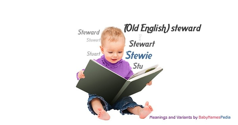 Meaning of the name Stewie