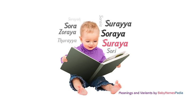 Meaning of the name Suraya