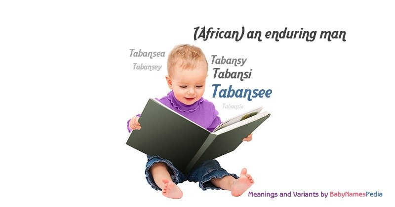 Meaning of the name Tabansee