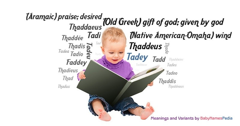 Meaning of the name Tadey