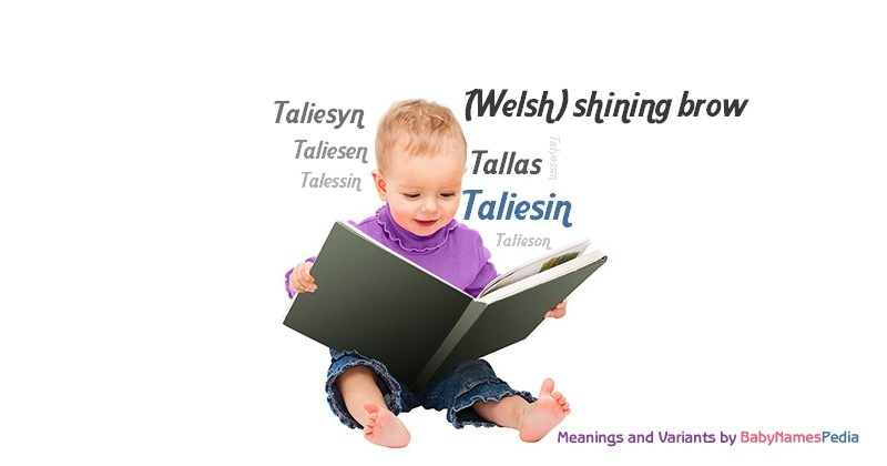 Taliesin - Meaning of Taliesin, What does Taliesin mean?