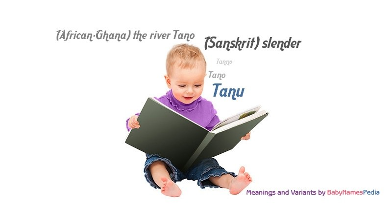 Meaning of the name Tanu