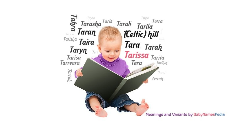 Meaning of the name Tarissa