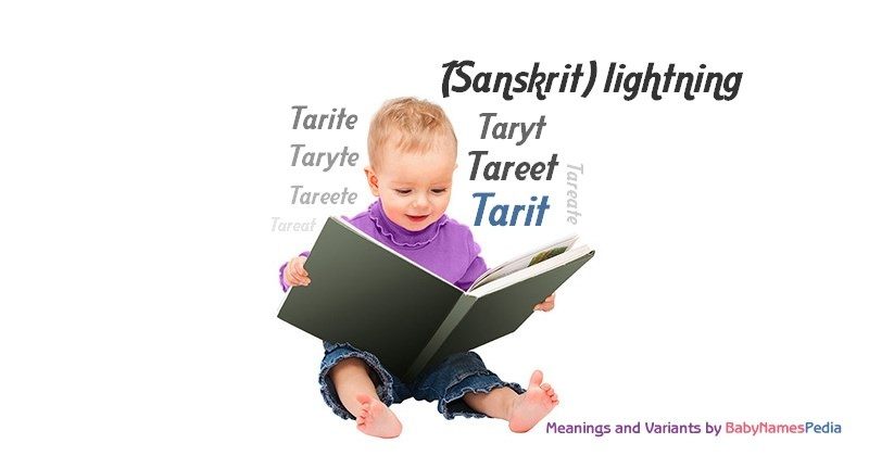 Meaning of the name Tarit