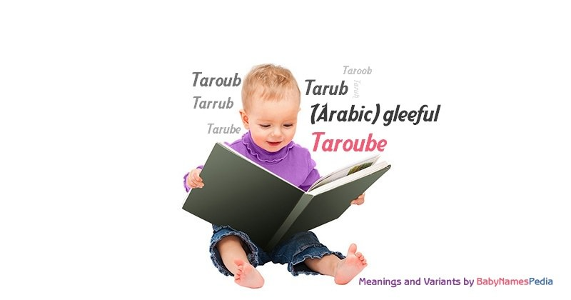 Meaning of the name Taroube