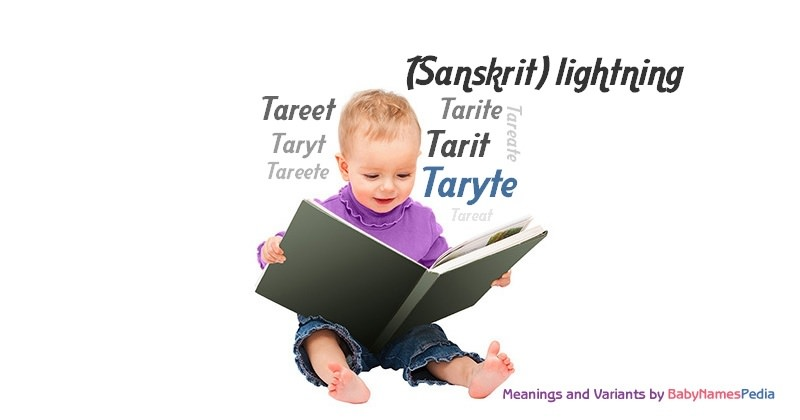 Meaning of the name Taryte