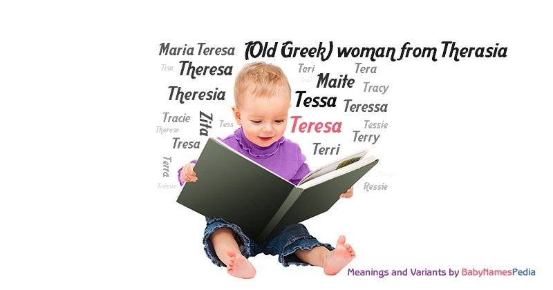 Meaning of the name Teresa