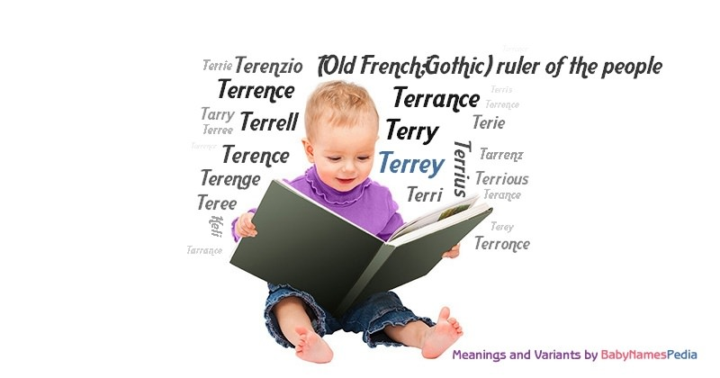 Meaning of the name Terrey