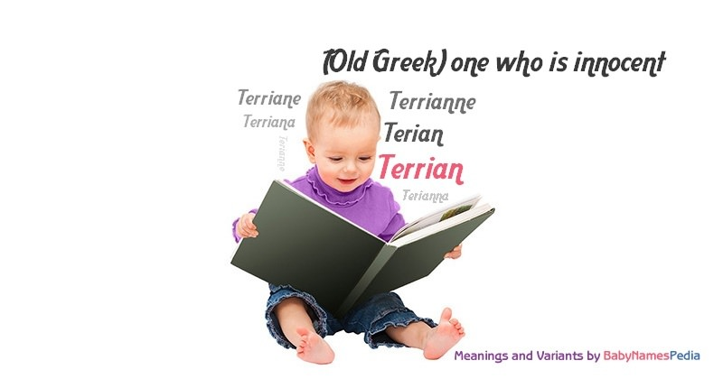 Meaning of the name Terrian