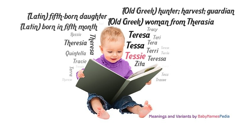 Meaning of the name Tessie