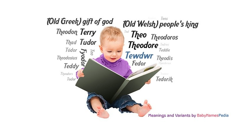 Meaning of the name Tewdwr