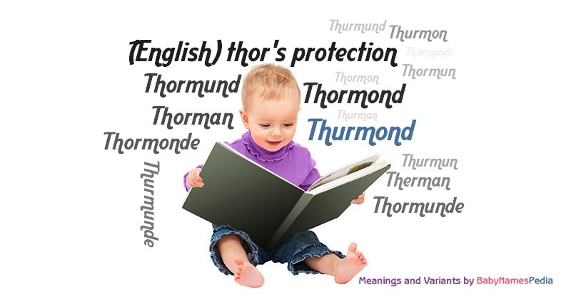 Meaning of the name Thurmond