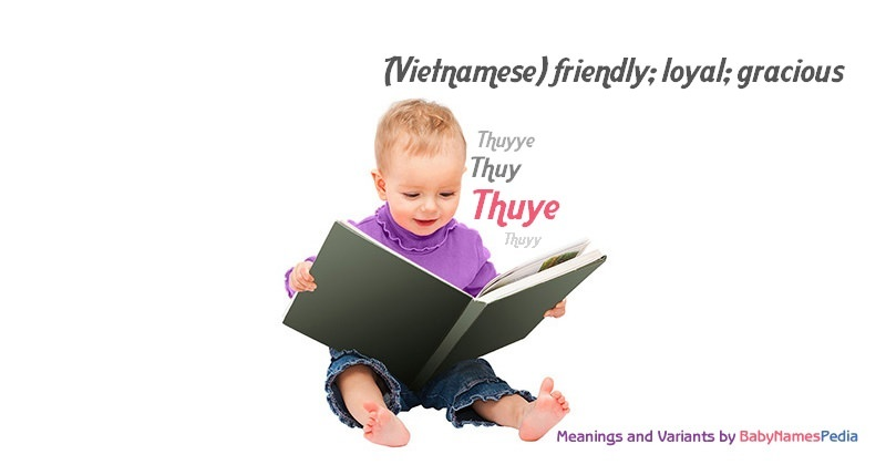 Meaning of the name Thuye