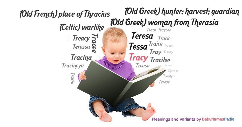 Meaning of the name Tracy