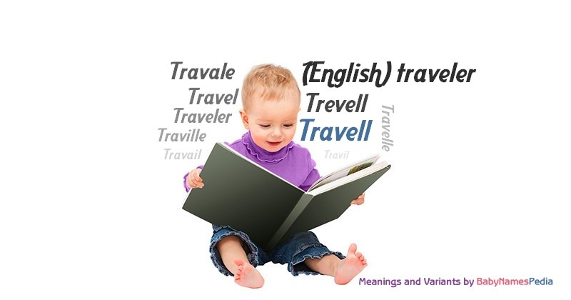 Meaning of the name Travell