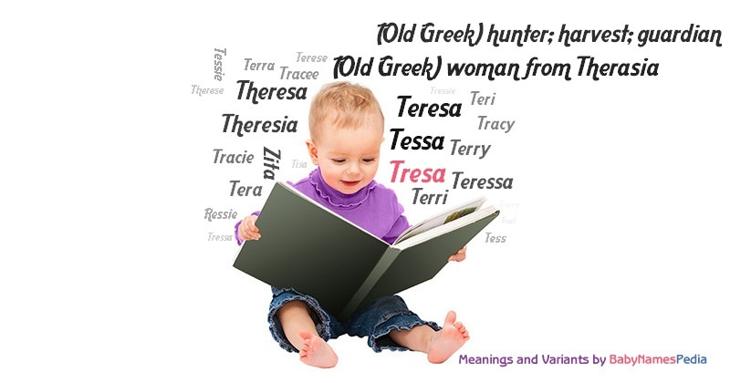 Meaning of the name Tresa