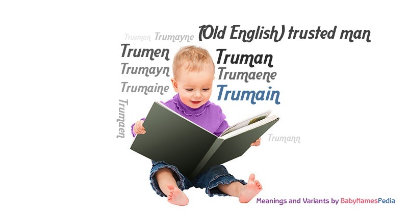 Meaning of the name Trumain