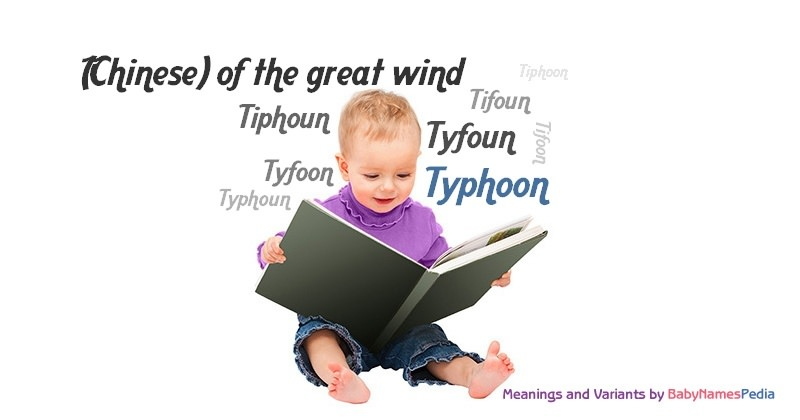 Meaning of the name Typhoon