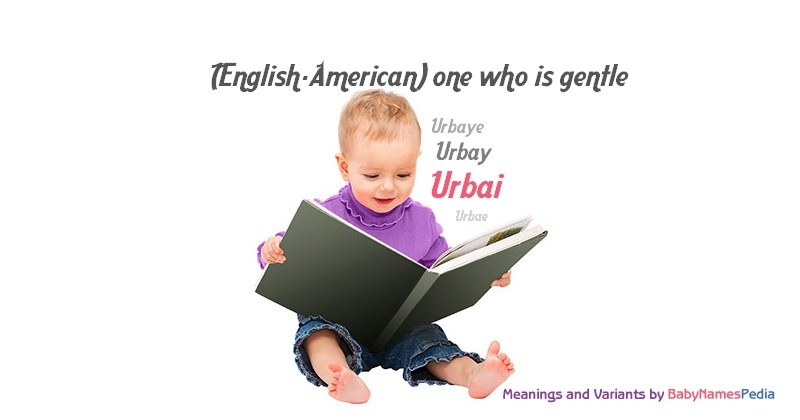 Meaning of the name Urbai