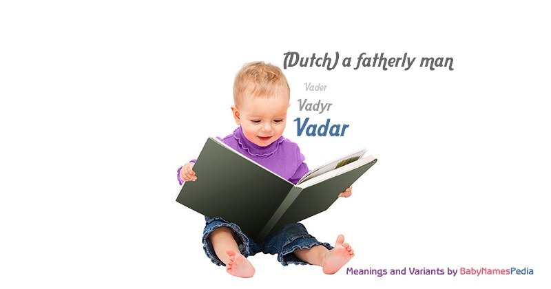 Meaning of the name Vadar