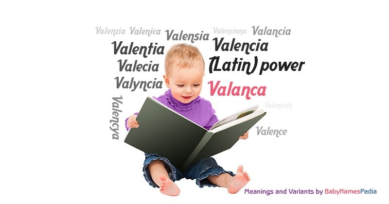 Meaning of the name Valanca