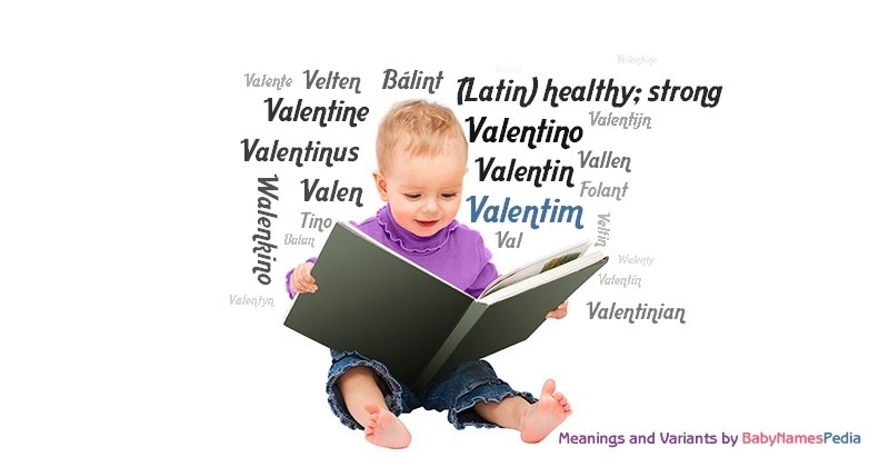 Meaning of the name Valentim