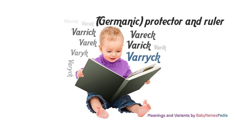 Meaning of the name Varryck