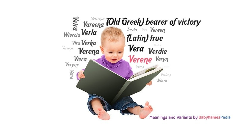 Meaning of the name Verene