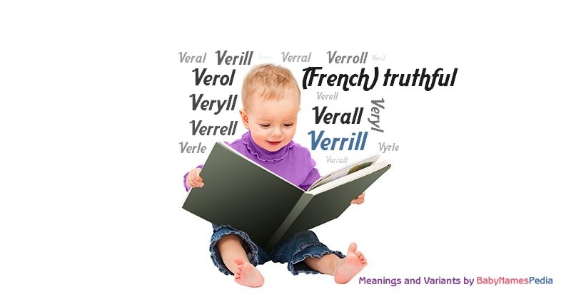 Meaning of the name Verrill