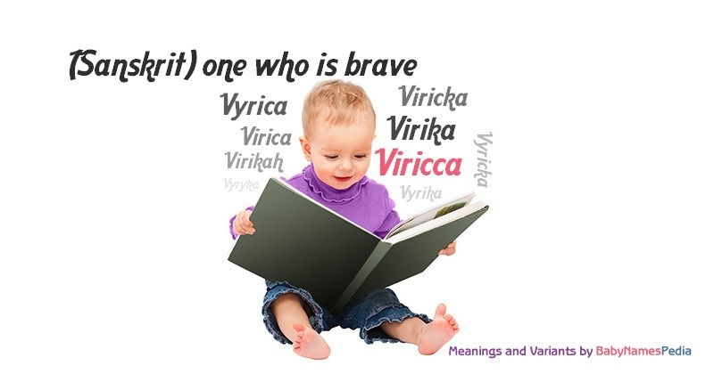 Meaning of the name Viricca