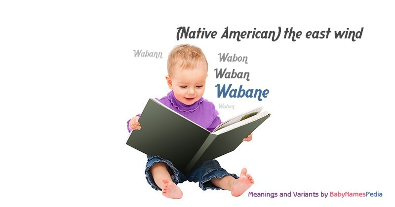 Meaning of the name Wabane