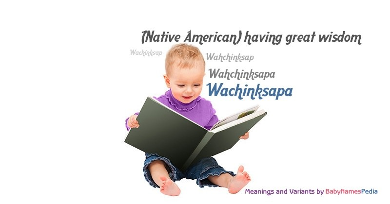 Meaning of the name Wachinksapa