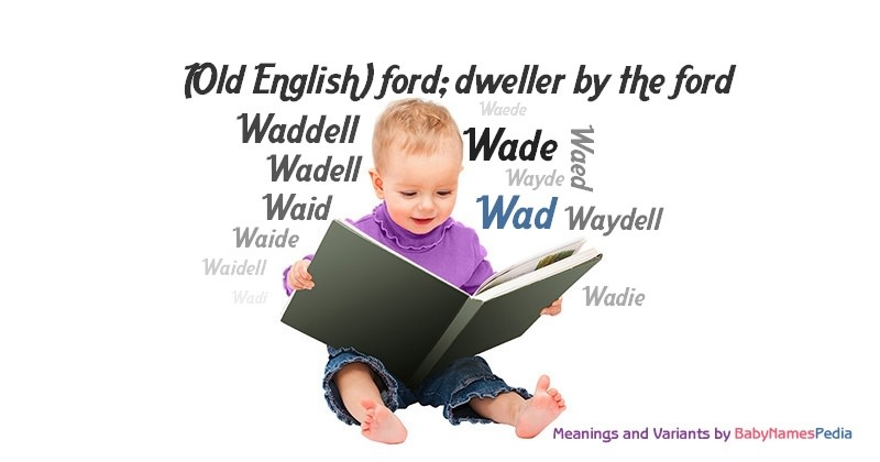 Meaning of the name Wad
