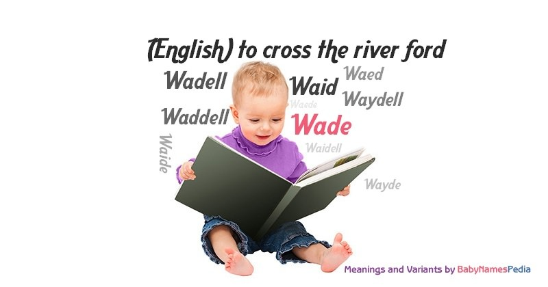 Meaning of the name Wade