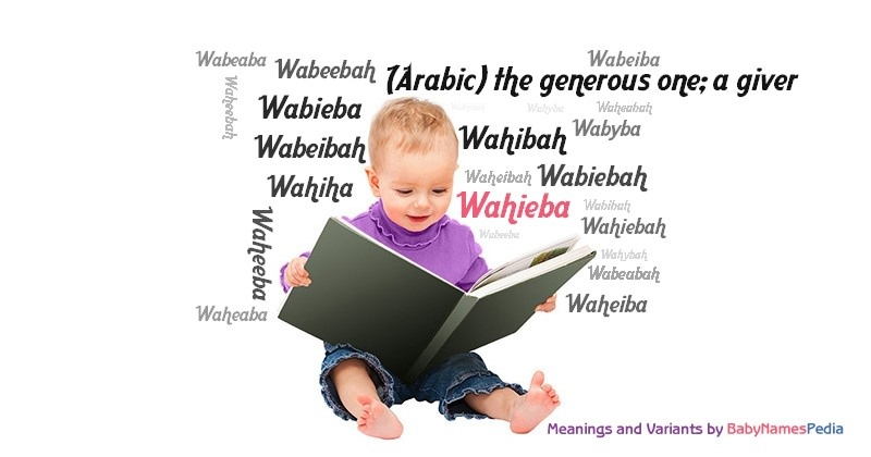 Meaning of the name Wahieba