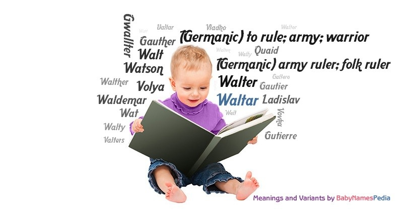 Meaning of the name Waltar