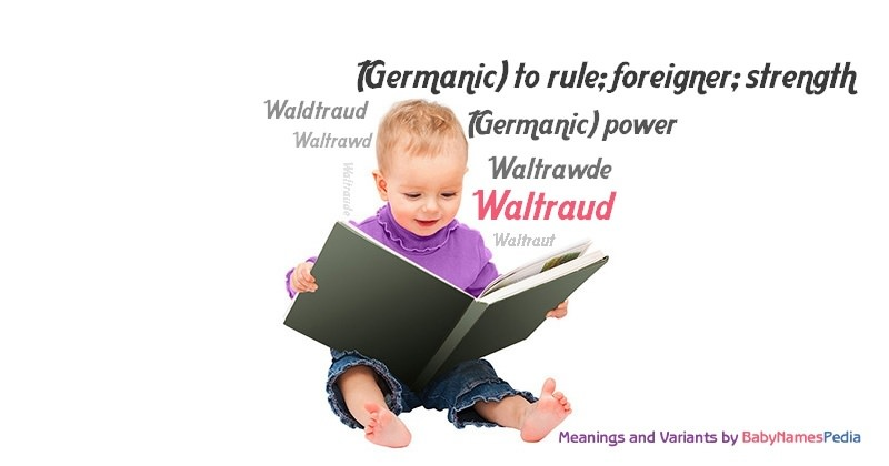 Meaning of the name Waltraud