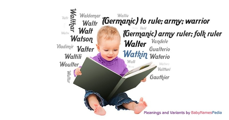 Meaning of the name Watkin