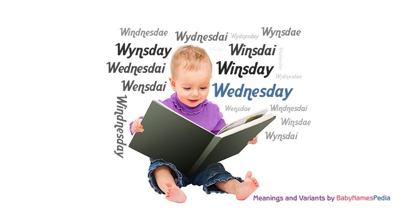 Meaning of the name Wednesday