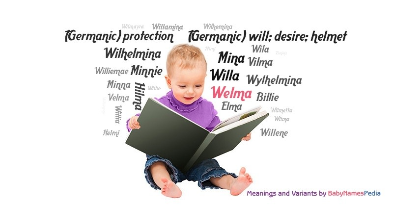 Meaning of the name Welma