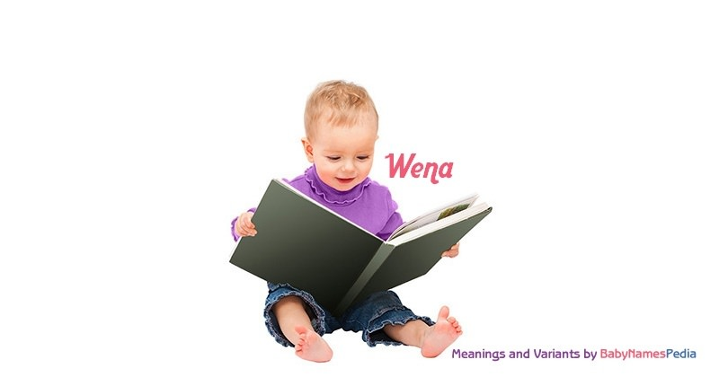 Meaning of the name Wena